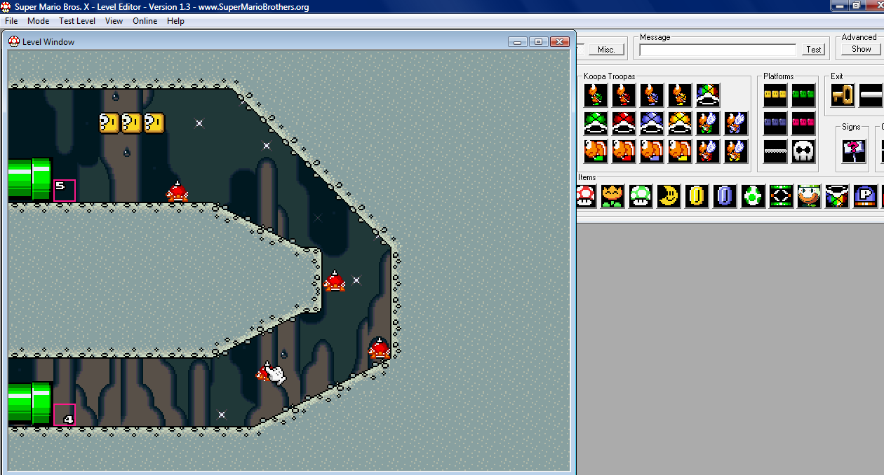 Probably the best super mario level editor ever super mario bros screen shot 3 click here gumiabroncs Image collections