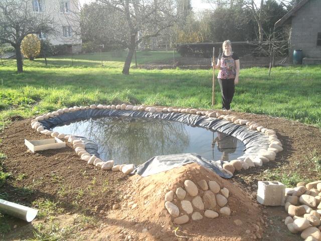Mon bassin for Bache pour bassin de jardin