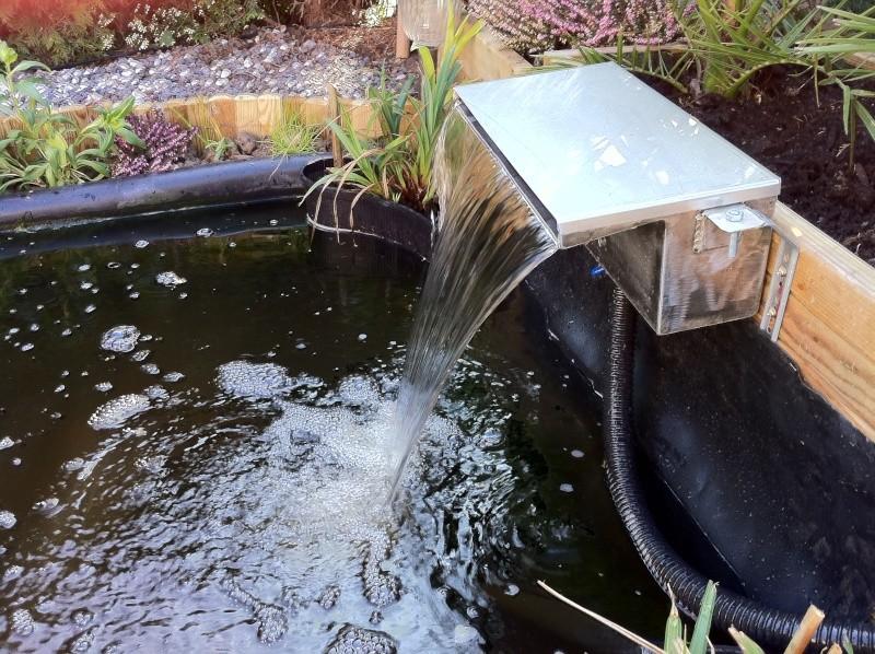 Mon bassin for Filtre bassin maison