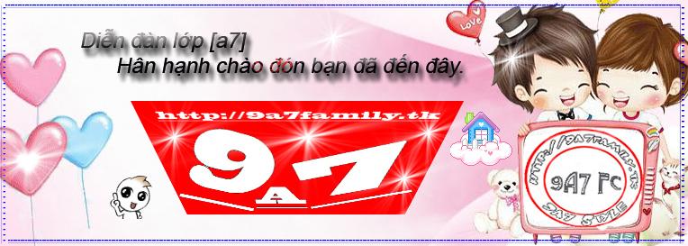 ::. 9A7 FAMILY FORUM || 2011 .::