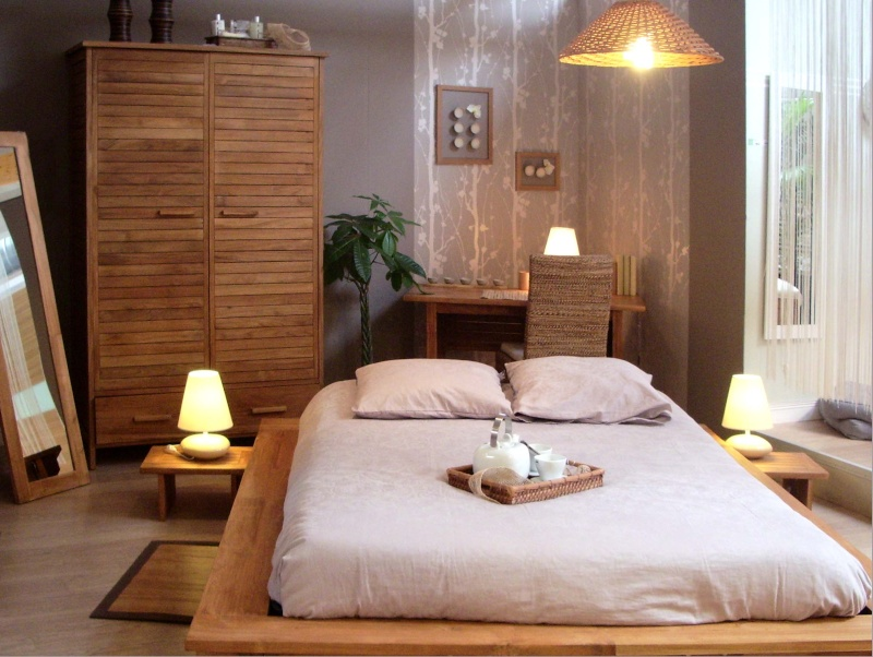 D co chambre zen bouddha for Decoration chambre zen nature